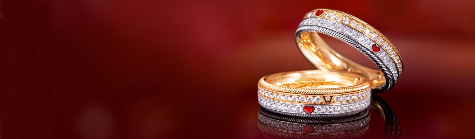 billiger Verkauf üppiges Design detaillierte Bilder Wellendorff - Ringe